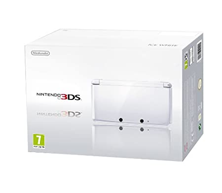 Nintendo 3DS Handheld Console - Ice White