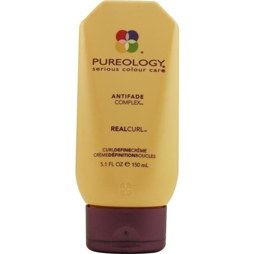 Pureology Anti-Fade Complex Real Curl Defining Cream, 5.1 Ounce