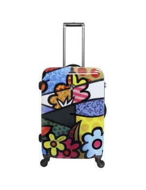 Click to buy Hard SIded Luggage: Britto Collection by Heys USA Flowers 26