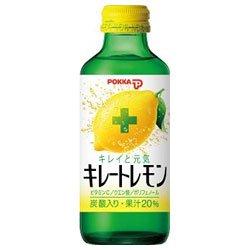 ポッカ キレートレモン 155ml瓶×24本入