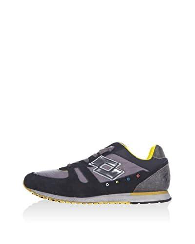 Lotto Leggenda Sneaker Tokyo Ny schwarz/grau