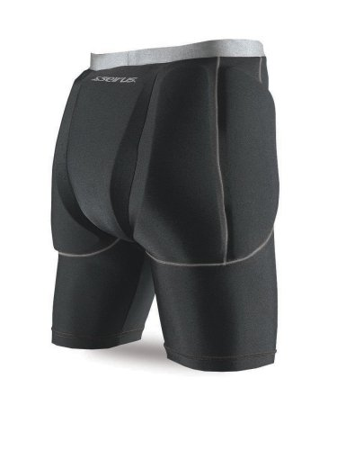 Seirus Innovation 5656 Super Padded Shorts for Skiing, Snowboarding and Outdoor Athletics - Small/Medium, Black (Padded Snowboard Shorts compare prices)