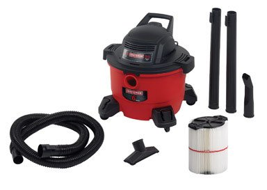 Craftsman 9-17965 Wet/Dry Vacuum, 6 gallon (Craftsman Car Shop Vac compare prices)