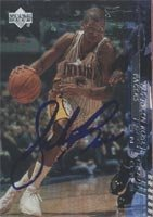 Jalen Rose Indiana Pacers 2001 Upper Deck Encore Foil Autographed Hand Signed Trading... by Hall+of+Fame+Memorabilia