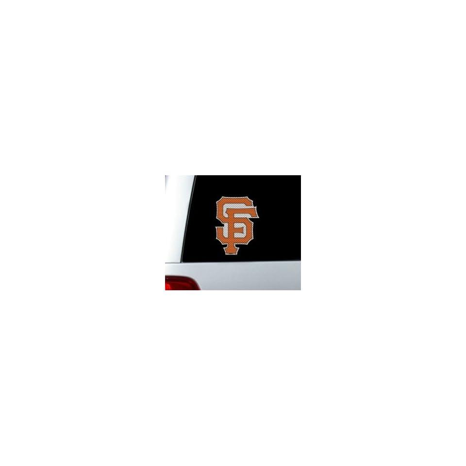 San Francisco Giants Die Cut Window Film   Large