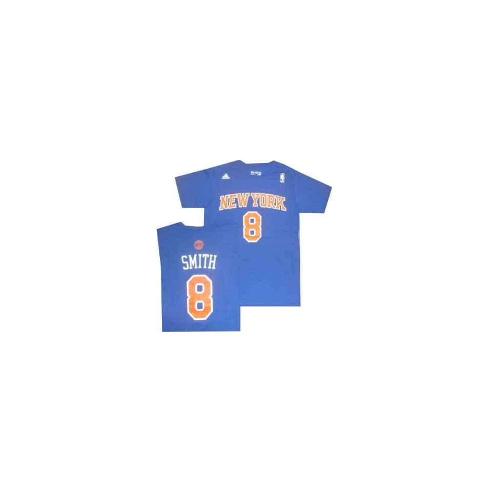 b29e9719c907 New York Knicks JR Smith Adidas Name and Number T Shirt on PopScreen