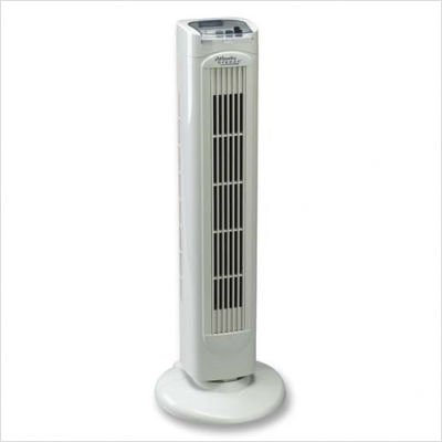 ATL44553 - Tower Fan,60 Degree Oscillation,3 Speed,9x7x30,Light Gray