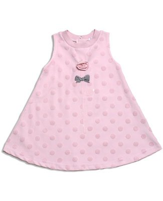Le Top Romance Pink Flower Sculpted Dot Terry Cover-up Swing Dress - Buy Le Top Romance Pink Flower Sculpted Dot Terry Cover-up Swing Dress - Purchase Le Top Romance Pink Flower Sculpted Dot Terry Cover-up Swing Dress (le top, le top Apparel, le top Toddler Girls Apparel, Apparel, Departments, Kids & Baby, Infants & Toddlers, Girls, Skirts, Dresses & Jumpers, Dresses)