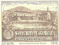 Santa Rita Cabernet Sauvignon Casa Real Alto Santa Rita Old Vines Vineyard 2008 750Ml