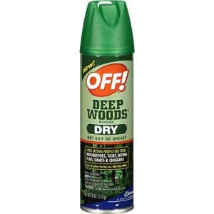 off mosquito repellent deep woods dry 4 oz insect repellents patio lawn garden. Black Bedroom Furniture Sets. Home Design Ideas