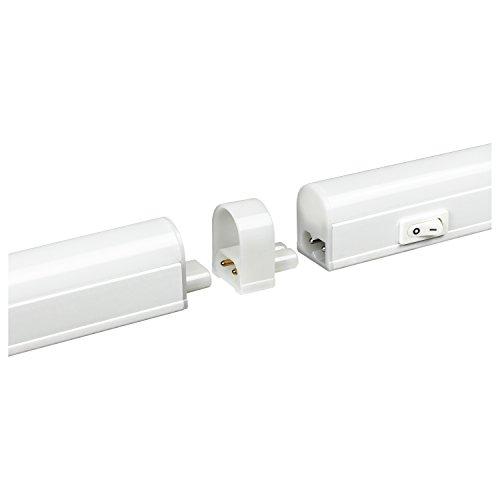 18 Watt Led Linkable Strip Light Under Cabinet: Light Fixture 10-watt 120-volt LED Linkable Under Cabinet