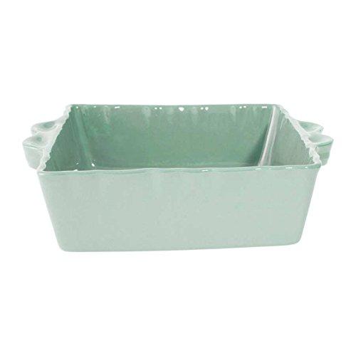 plat-a-four-carre-en-gres-feston-25x21-cm-vert-deau-cote-table