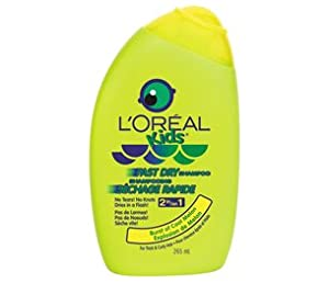 l oreal kids fast dry 2 in 1 shampoo for