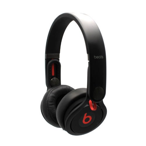 Genuine Beats By Dr. Dre Beats Mixr On-Ear Flexible Headband Dj Headphones Black