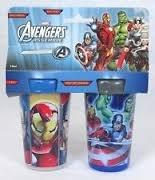Avengers Assemble Spill-proof 2 Pack Insulated Sipper Cups 10 Ounce