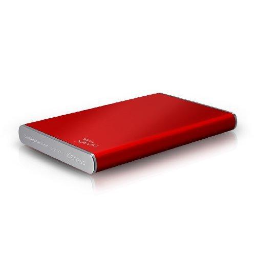 TREKSTOR pocket Xpress 640 GB rot 2,5 Zoll 6,4 cm