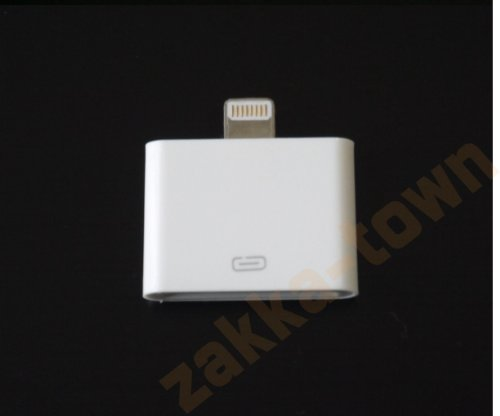 Lightning+30ピンアダプタ+-iPhone4からiphone5へ変換コネクタ+充電器+充電アダプター+8pin+Lightning+DOCK+iphone5+iPad+mini+iPod+も