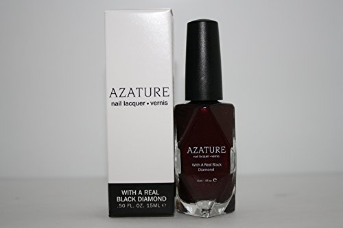 AZATURE Black Diamond Nail Lacquer, Merlot, 0.5 Fluid Ounce