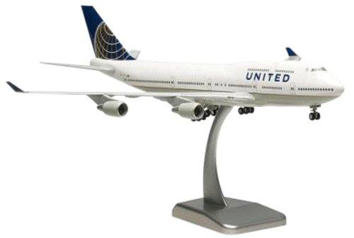 hogan-h4937gr-united-airlines-boeing-747-400-1200-snap-fit-model