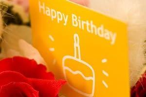 翌日配達お花屋さん まるで「ケーキ」のデコレーションフラワー♪【送料無料】バースディケーキ(バラのプリザーブドフラワー)誕生日用 正午までのご注文は翌日、またはご希望の日にお届け致します。※土曜の正午以降及び日曜の受付は月曜発送(火曜以降着)