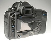 Flip Up LCD Sun Hood for the Canon EOS Rebel XTi Digital SLR Camera