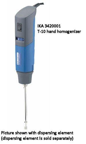 Ultra-Turrax T 10 Basic Disperser/Homogenizer, Ika Works - Model 3420001 - Each - Model 3420001