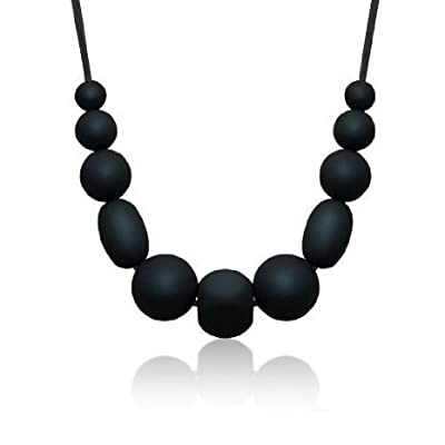 Siliconies Medley Necklace - Silicone Bead Necklace (Teething/Nursing) from Family Bedrock