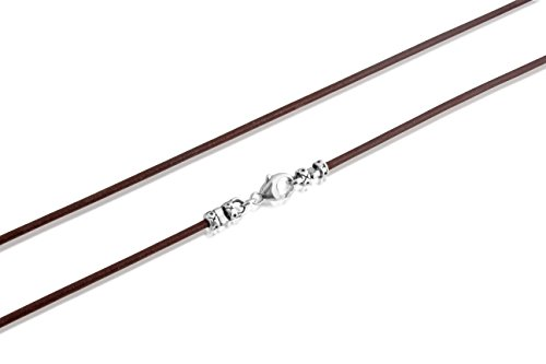 genuine-brown-leather-2mm-cord-with-sterling-silver-lobster-clasps-necklace-or-wrap-bracelet-28-inch