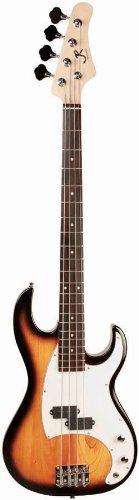 J Reynolds Jr7As Electric Bass Guitar, Antique Sunburst