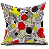 Decorative pillows O'May Online Shop Love of home decoration, the red circle of the iron railings 18x18(inches) (Decorative Iron Railing compare prices)