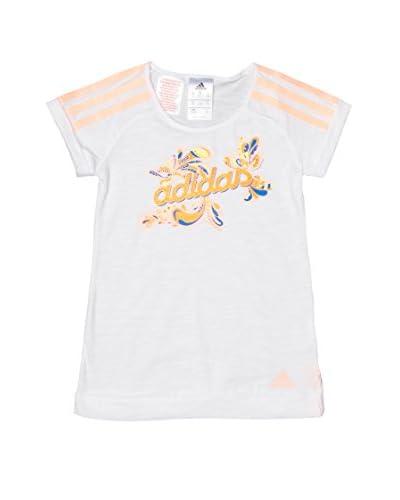 Adidas T-Shirt Manica Corta Lg Ri [Bianco]