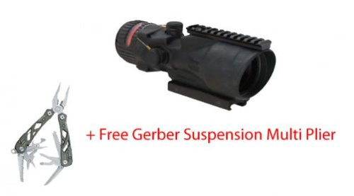 Trijicon Acog 6X48 Scope W Rmr, Amb Chev .308 Ret, Free Multiplier Ta648Rmr-308-A-Kit