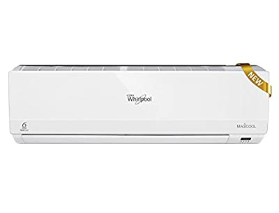 Whirlpool MAGICOOL DLX III Split AC (1 Ton, 3 Star Rating, Silver) - Comes with Free Installation, Stabilizer...