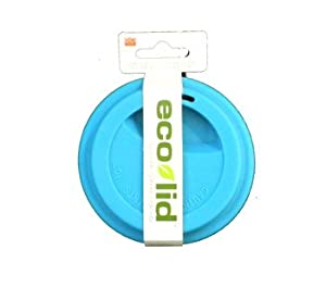 ECO CUP & I Am Not a Paper Cup Replacement Coffee Cup Lid Blue Silicone