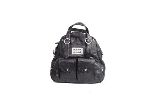 Ness Eli Diaper Tote Bag, Black