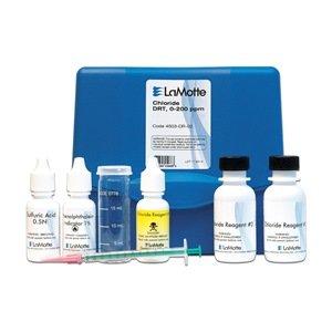 LaMotte 4503-DR-02 Model PSC-DR Chloride Direct Reading Titrator Individual Test Kit, 0-200ppm/0-20,000ppm Range, 4ppm/400ppm Sensitivity
