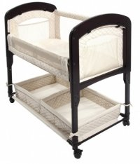 Learn More About Arm's Reach Concepts Cambria Co-Sleeper Bassinet, Natural