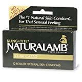 Trojan Naturalamb Natural Skin Lubricated Condoms