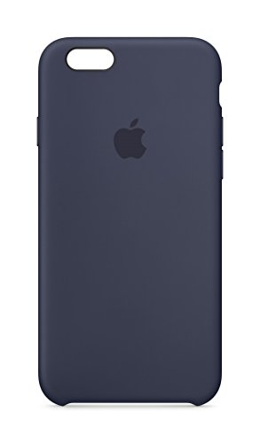 Apple MKY22ZM/A Silikon Schutzhülle für Apple iPhone 6/6S mitternachtsblau