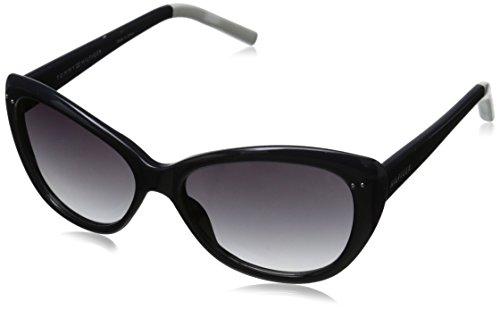 Tommy Hilfiger Women'S Ths Lad133 Cateye Sunglasses, Navy & White, 55 Mm