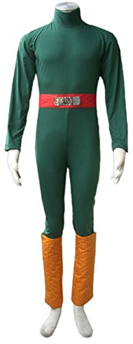 Going Coser Naruto Rock Lee Cosplay Costume