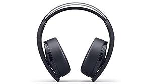 PlayStation Platinum Wireless Headset - PlayStation 4 (Color: Platinum, Tamaño: PlayStation)