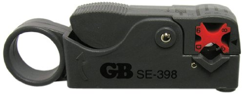 Gardner Bender SE-398 Coaxial Cable Cutter & Stripper RG-59 & RG-6, 3 Step, 6-1/4
