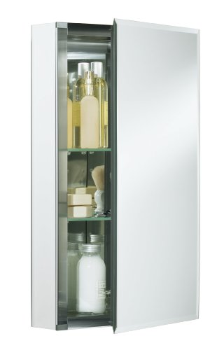 KOHLER K-CB-CLC1526FS Single Door 15-Inch by 26-Inch by 5-Inch Aluminum Cabinet image