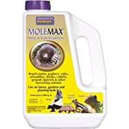 Bonide 691 Molemax Granular Natural Animal Repellent-5LB MOLEMAX REPEL