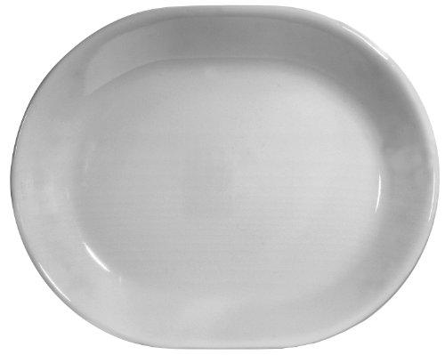 Corelle Livingware 12-1/4-Inch Serving Platter, Winter Frost White (Corelle Oval Serving Plate compare prices)