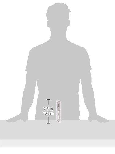OxyLED - Lámpara LED inalámbrica (sensor táctil, 4 ledes, funciona con pilas), color blanco