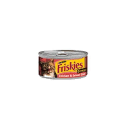 Friskies Savory Shreds Chicken and Salmon Dinner in Gravy Ca
