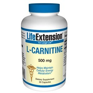 Life Extension L-carnitine 500 Mg