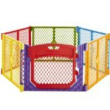 Superyard Colorplay Ultimate Playard, Multi Color 12 panels super bonus set (North States Super Play Yard compare prices)